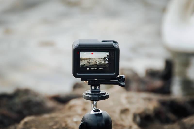 GoProのバックモニター