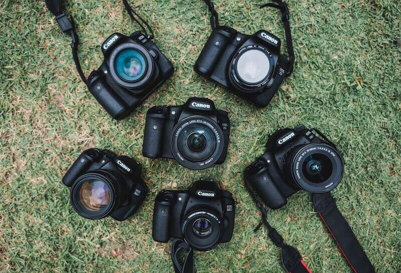 複数のカメラ