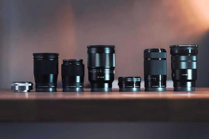 カメラレンズ