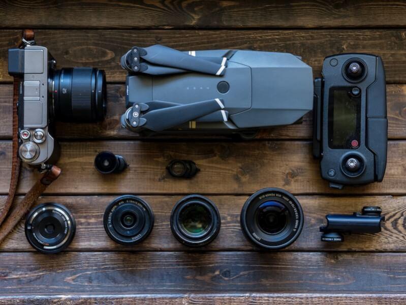 カメラとドローン